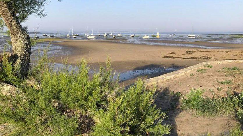 Vue du port d'Andernos les bains